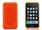 iPhone 3G/3GSのためのシリコーンカバー場合(オレンジ)