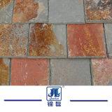 Mattonelle arrugginite naturali dell'ardesia del fornitore cinese per il rivestimento & la pavimentazione della parete