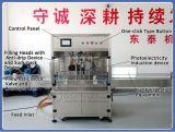 Aceite de soya automática Máquina de Llenado con 4 boquillas/rellenos fabricantes