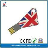 Chave de metal/USB Chave USB com logotipo arqueamento