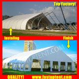 Curva branca Marquee tenda para Restauração 300 pessoas lugares comentários