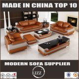 Miami-Sofa-Möbel-Ausgangssofa mit italienischem Leder