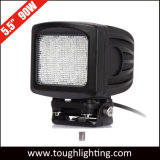 12V 24V 5pulgada cuadrada de 90W LED de servicio pesado de las luces de conducción