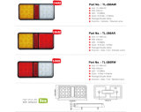 E-Anerkannte Schlussteil-Lichter der Hülse-8inch 2 der Kombinations-LED