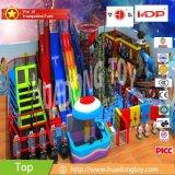 Campo de jogos interno Multifunctional com os Trampolines que saltam para crianças