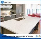 Partie supérieure du comptoir chaudes de quartz de vente pour les matériaux de construction extérieurs solides avec la qualité (couleurs de quartz)