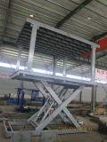 Elevador do estacionamento do carro da garagem de 2 níveis com telhado