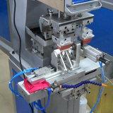 셔틀을%s 가진 기계를 인쇄하는 2개의 색깔 패드