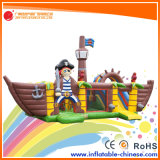 2018 Gaint Mega Ballcanon gonflable Bateau Pirate (T6-613)