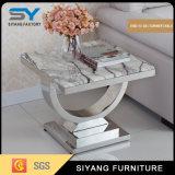 Домашняя мебель мраморным верхней части таблицы