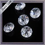 High Quality Clear White Color Brilliant Cut Cubic Zirconia CZ Stone para venda