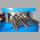 Rodillo de acero galvanizado de la barandilla de la carretera que forma la máquina