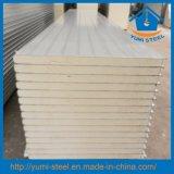 Панели стены/крыши сандвича изоляции полиуретана PU стальные для Prefab домов