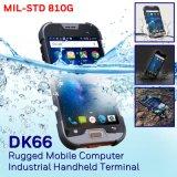5 '' Quadcore 4G impermeabilizan Smartphone, espec. impermeable estándar IP68 10 contadores