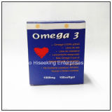 GMP Certified Pharmaceutical Chemical DHA Omega 3 Fish Soft Capsule