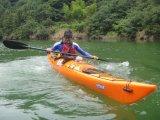 1 Kayak моря океана персоны пластичный с педалями и Rudder