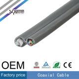 Sipu Rg59 Cable coaxial + 2 núcleos de alimentación para monitor
