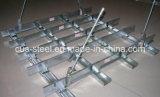 Galvanizado de acero de alta calidad de la luz de la quilla/parrilla de techo