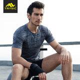 2017枚の皮の柔らかい高伸縮性がある適性の衣類のスポーツ・ウェア
