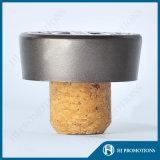 Tampão personalizado do metal para o frasco do licor (HJ-MCJM04)