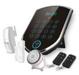 WiFi + GSMのスマートな住宅用警報装置の機密保護アラーム防犯ベル