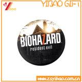 Botón de estaño de impresión CMYK Broche insignia con la colocación de regalo de promoción