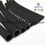 Il tubo flessibile idraulico di gomma Braided del collegare ad alta pressione/tubo flessibile ad alta pressione della rondella/ha intrecciato il tubo