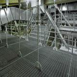 Antirust en snelle grating van het installatiestaal het werkplatforms