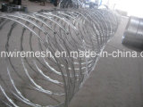 Spiral Razor Barbed Wire for Fencing Security