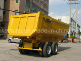U-Тип полуприцепа 20 -22 Cbm Tipper 2axle