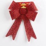 Pendente do Bowknot do Natal da decoração do feriado (JG678)