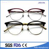Металл Eyewear смешивания ацетата половинной рамки с оптически стеклами
