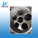 Grande filtro de saco do aço inoxidável do fluxo para o sistema de irrigação