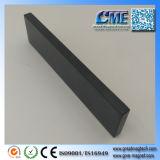 N40uh F100x25x6mm bloc aimants en néodyme Aimants à revêtement époxy noir