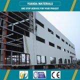 Edificio prefabricado de la estructura de acero para la venta