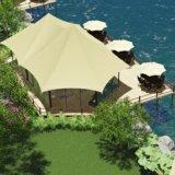Luxuriöses Glanzzelt für Inselwohnungen