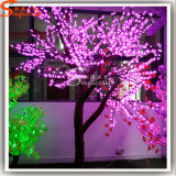 Artificial Cherry Blossom LED Light Christmas Fiberglass Tree