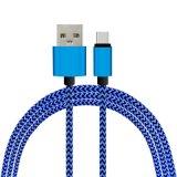 알루미늄 나일론은 3m 소니 Samsung 은하를 위한 마이크로 USB 케이블 이동 전화 케이블 데이터 충전기 케이블을 땋았다
