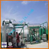 Pianta di rigenerazione dell'olio di motore del nero dello spreco di distillazione sotto vuoto della Cina