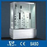 cabine de luxe de douche de couleur blanche de 170X85cm