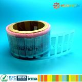 Escritura de la etiqueta del papel de la frecuencia ultraelevada H4 RFID de la gerencia 860-960MHz 9710 del almacén
