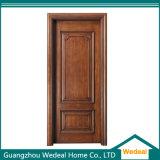 O luxo do interior da porta de madeira sólida para o Projeto Industrial