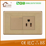 Plot blanc du mur USB de vente en gros de PC avec le certificat de la CE