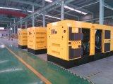 160kw/200kVA Doosanの防音のおおい機構のディーゼル発電機セット