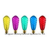 Lampadine incandescenti delle lampadine St40 della stringa variopinta