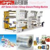 Asy série 2-couleur 3-Groupe l'héliogravure Machine