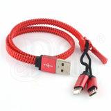 Câble USB certifié RoHS avec Lightning et Micro