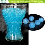 Blue Glitter Crystal Soil Water Beads Centrepieces Décorations de mariage