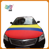 Bandiera su ordinazione ecologica del coperchio del cappuccio dell'automobile della visualizzazione della bandierina del Porto Rico