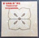Плитки мраморный фарфора строительного материала застекленные Jingang естественные каменные
